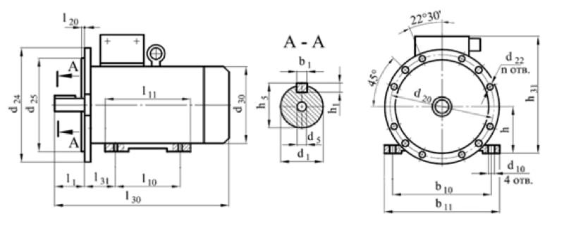 Электродвигатели по стандарту IEC (DIN) серии YE2 (аналоги АВВ, Siemens, SCHORCH)